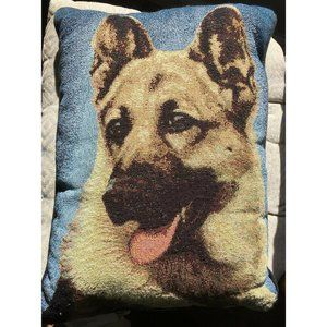 German Shepherd throw pillow dog decor